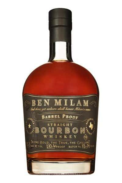 Ben Milam Barrel Proof Bourbon