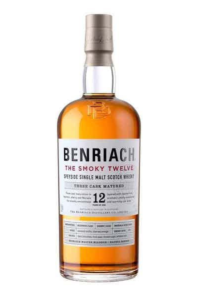 BenRiach The Smoky Twelve Speyside Single Malt Scotch Whisky