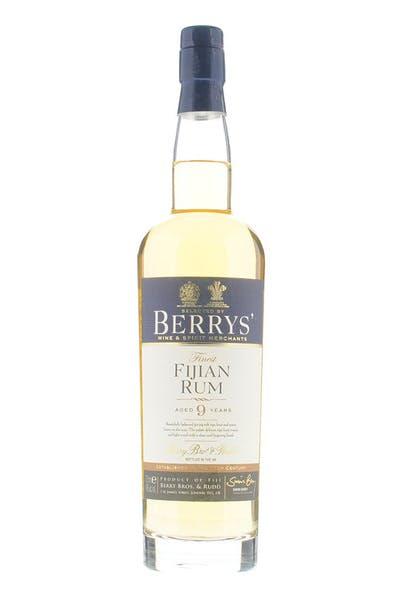 Berrys' Fijian 9yr Old Rum