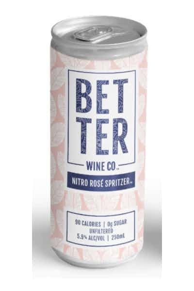Better Wine Co. Nitro Rose Spritzer