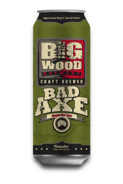 Big Wood Bad Axe IPA