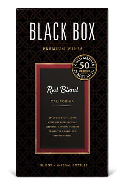 Black Box Red Elegance