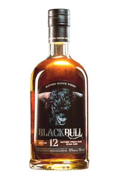 Black Bull Scotch 12 Year