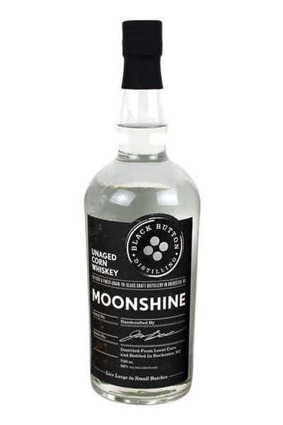 Black Button Unaged Corn Whisky Moonshine