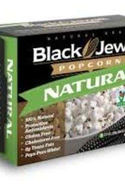Black Jewell Natural Microwave Popcorn