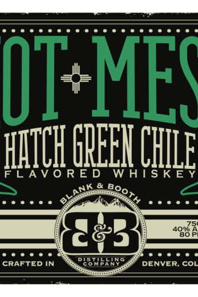 Blank & Booth Hot Mess Chile Whiskey