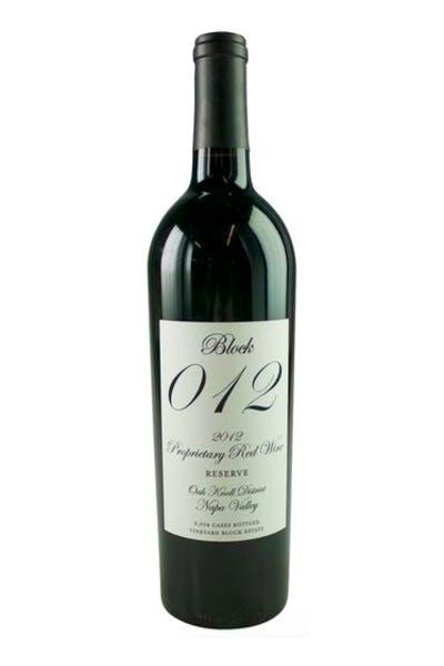 Block 012 Red Wine Oak Knoll