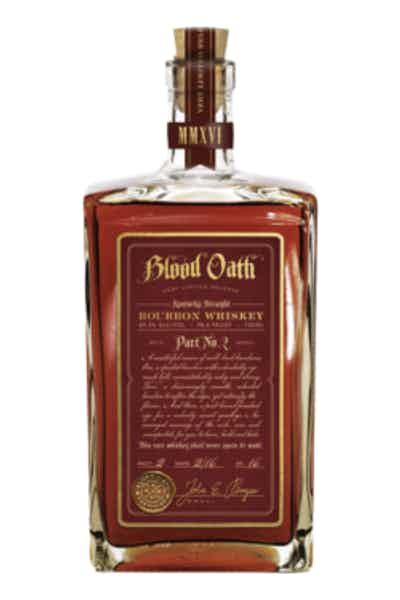 Blood Oath Bourbon Pact No. 2