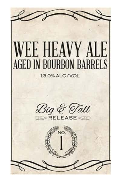 Blue Pants Bourbon Barrel Aged Wee Heavy Ale
