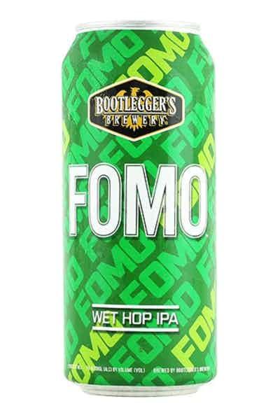 Bootleggers Fomo Wet Hop IPA