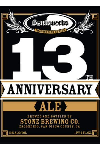 Bottleworks 13th Anniversary Ale