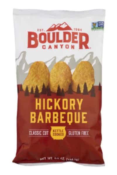 Boulder Canyon Kettle Potato Chips, Hickory BBQ