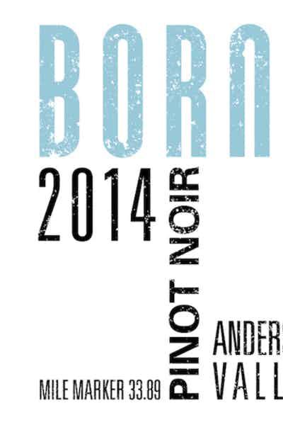 Brack Mountain Borne Pinot Noir 2014