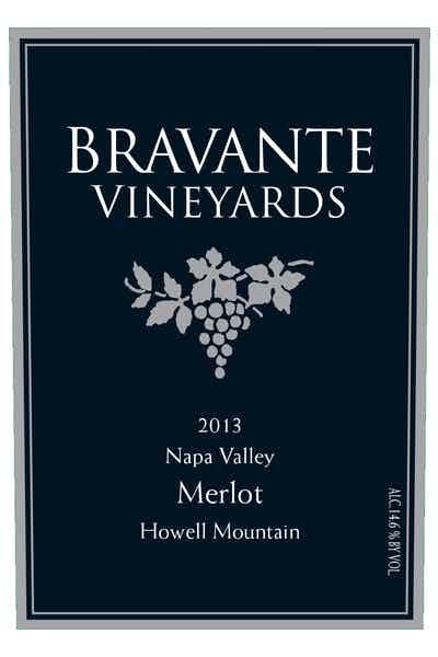 Bravante Vineyards Estate Howell Mountain Merlot