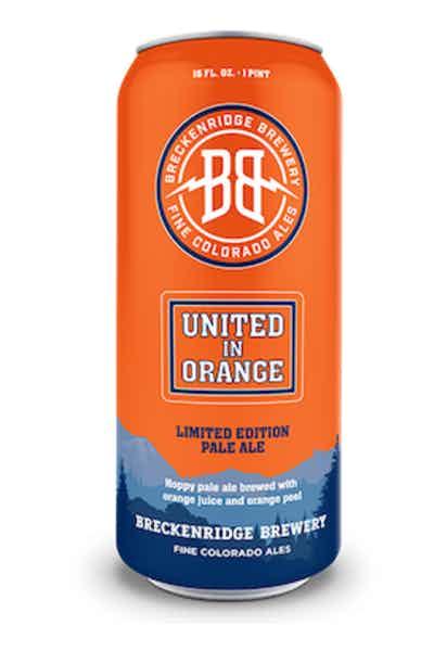 Breckenridge Brewery United in Orange