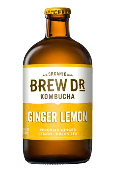 Brew Dr. Ginger Lemon Kombucha