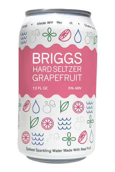 Briggs Hard Seltzer Grapefruit