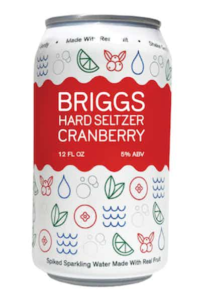 Briggs Hard Seltzer Cranberry