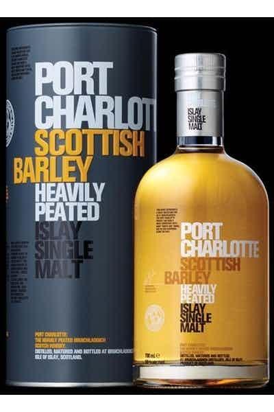 Bruichladdich Port Charlotte Scottish Barley Heavily Peated