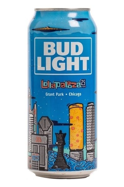 Bud Light Limited Edition Lollapalooza