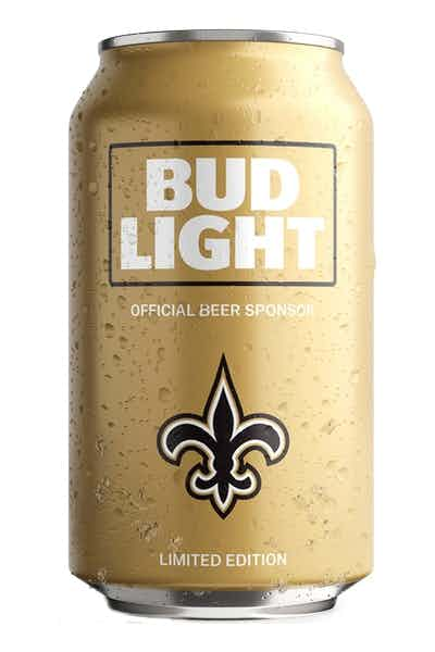 Bud Light New Orleans Saints NFL Team Can