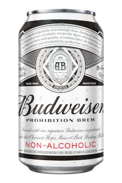 Budweiser Prohibition Brew Non-Alcoholic Beer