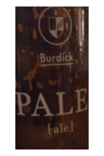 Burdick Pale Ale