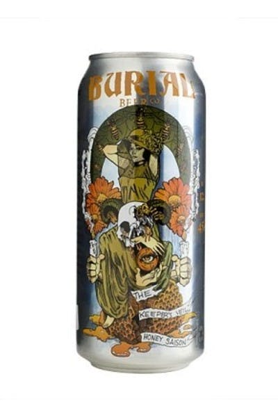 Burial The Keeper's Veil Honey Saison