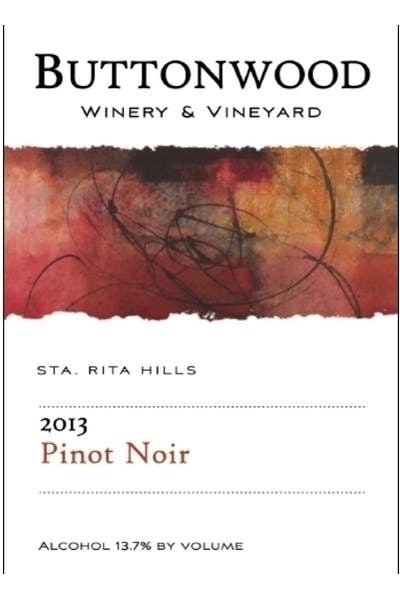 Buttonwood Pinot Noir Santa Rita Hills