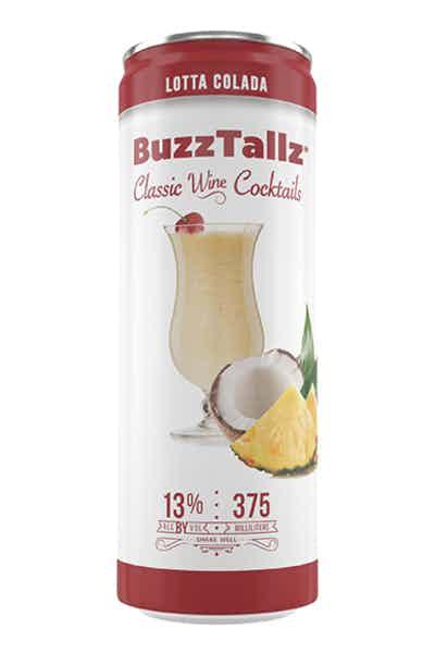 BuzzTallz Lotta Colada Wine Cocktail