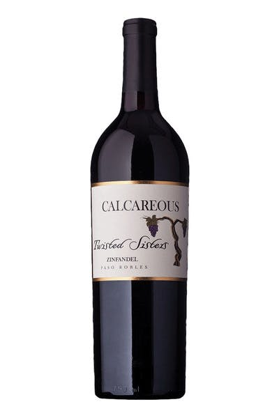 Calcareous Twisted Paso Zinfandel