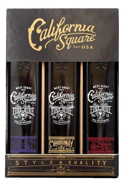 California Square 3pk Gift Pack
