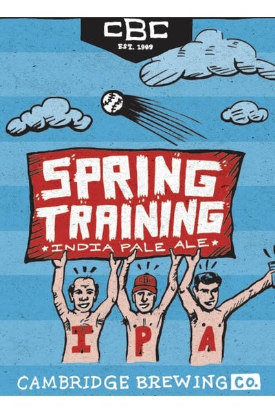 Cambridge Brewing Company Spring Training IPA