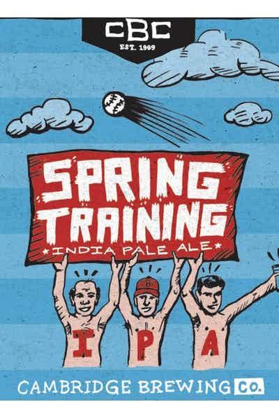 Cambridge Brewing Company Spring Training IPA