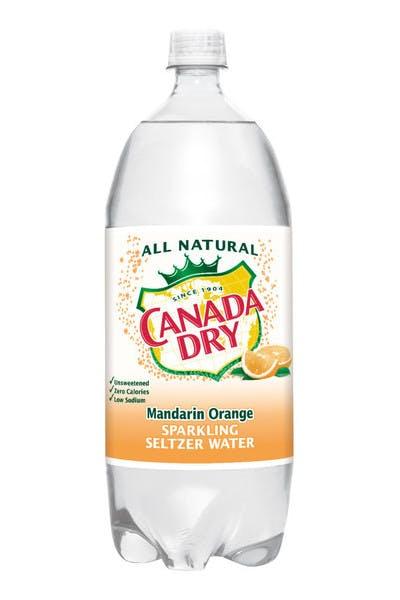 Canada Dry Mandarin Orange Seltzer