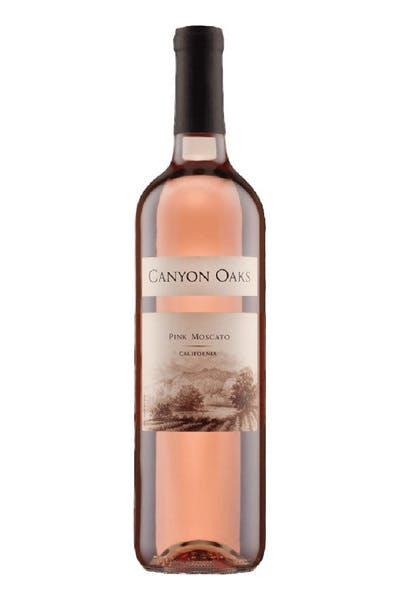 Canyon Oaks Pink Moscato