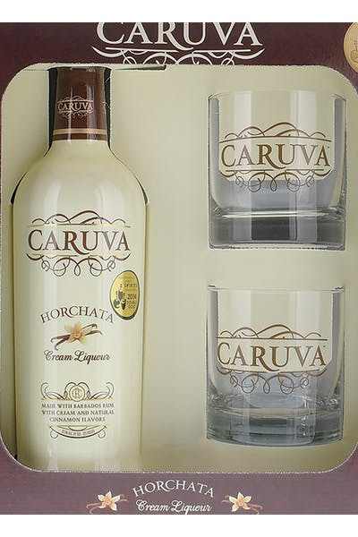 Caruva Horchata Cream W/ Glasses