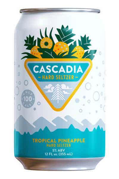 Cascadia Tropical Pineapple Hard Seltzer