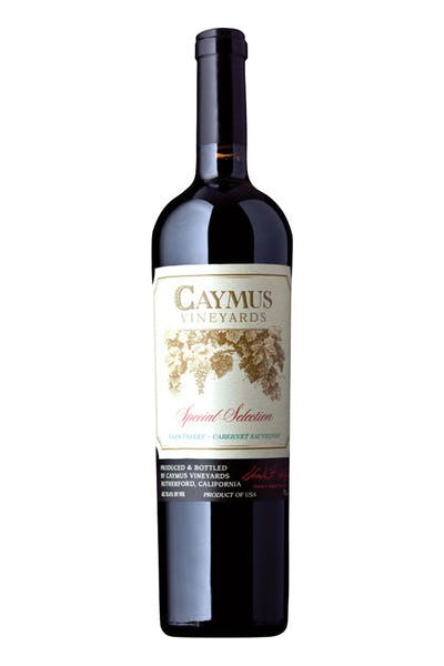 Caymus Cabernet Special Selection 2011