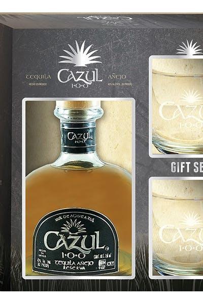 Cazul 100 Anejo Gift W/ Glasses