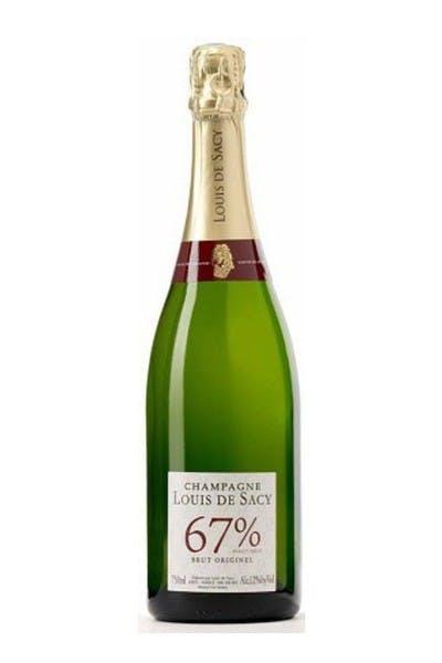 Champagne Louis de Sacy Cuvee 67% Brut Originel