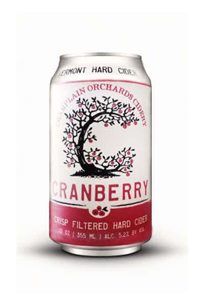 Champlain Orchard Vermont Cranberry Hard Cider