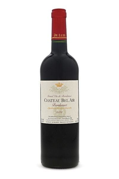 Chateau Bel Air Bordeaux 2012