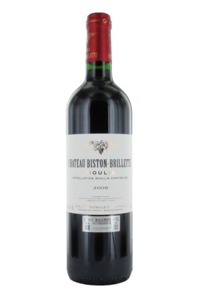 Chateau Biston-Brillette Moulis Bourdeaux Rouge