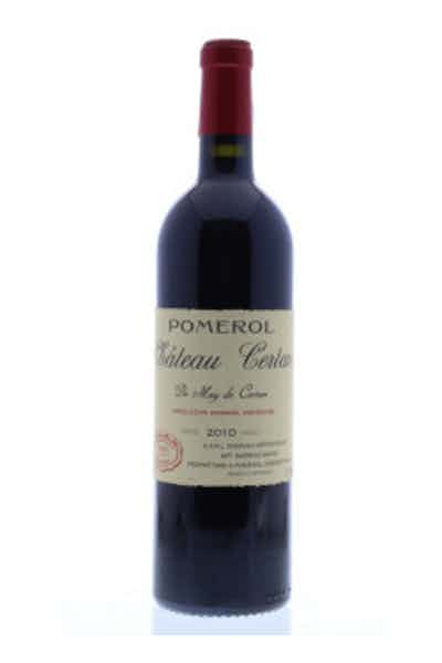 Chateau Certan De May Pomerol 2010