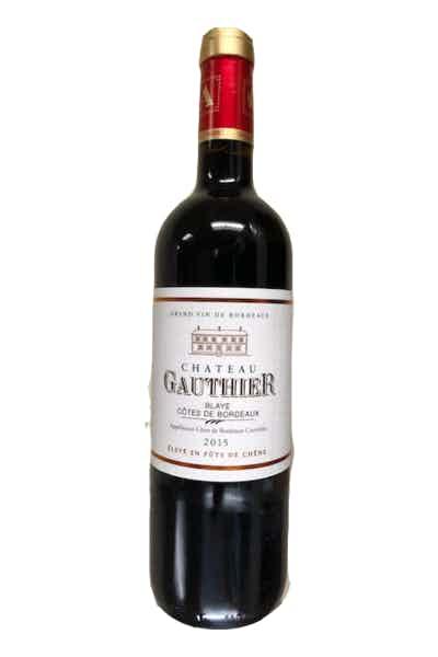 Chateau Gauthier Blaye Cotes De Bordeaux