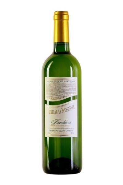 Chateau La Maroutine Bordeaux Blanc 2014