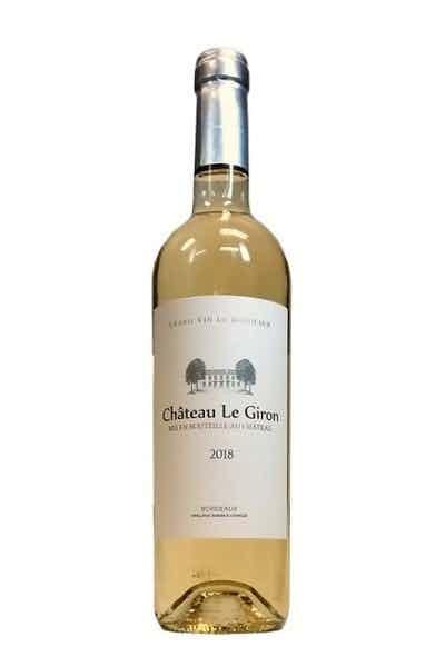Chateau Le Giron Grand Vin De Bordeaux Blanc