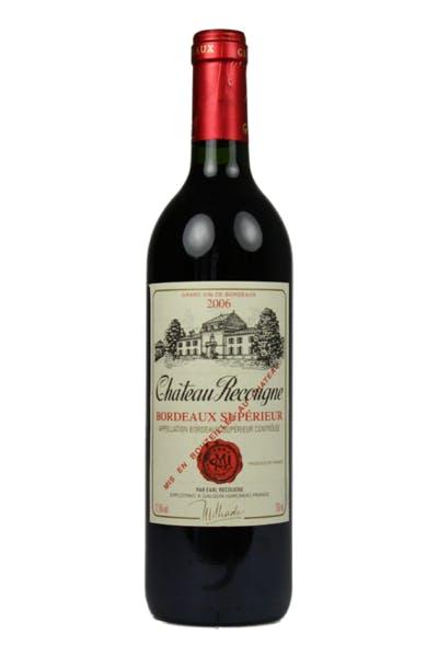 Chateau Recougne Bordeaux Superieur