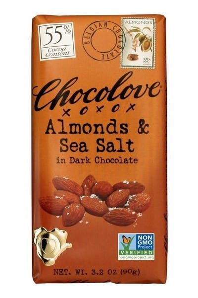 Chocolove Almond Sea Salt Dark Chocolate